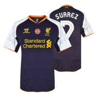 Liverpool 2012/13 3rd shirt SUAREZ