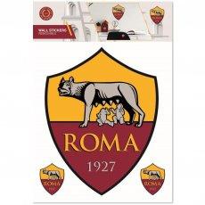 A.S. Roma Wall Sticker A4