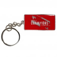 Liverpool F.C. Champions Of Europe Keyring