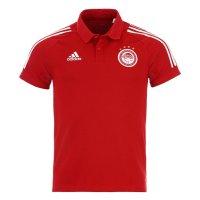 Olympiacos 2020/21 presentation polo shirt Adidas, red
