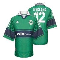 Panathinaikos 2003/04 home shirt MYKLAND