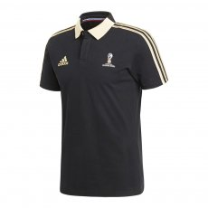 World Cup Russia 2018 Adidas polo T-shirt, black