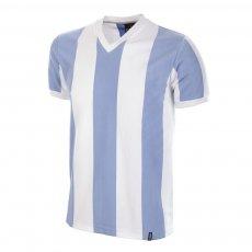 Argentina 1960s Short Sleeve Retro Football Shirt