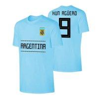 Argentina WC2018 'Qualifiers' t-shirt AGUERO, light blue