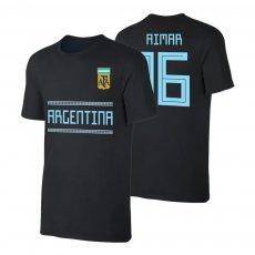 Argentina WC2018 Qualifiers t-shirt AIMAR, black