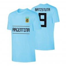 Argentina WC2018 Qualifiers t-shirt BATISTUTA, light blue