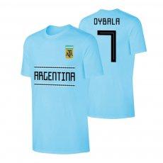 Argentina WC2018 Qualifiers t-shirt DYBALA, light blue