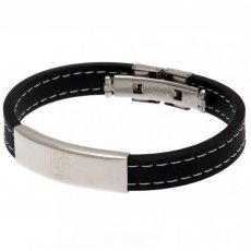Aston Villa F.C. Stitched Silicone Bracelet