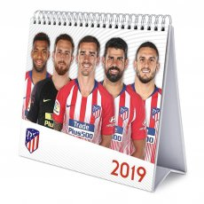 Atletico Madrid F.C. Desktop Calendar 2019