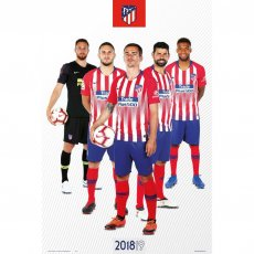 Atletico Madrid F.C. Poster Players 65 (61 x 91cm)