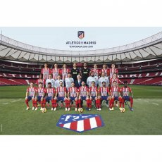 Atletico Madrid F.C. Poster Squad 66 (61 x 91cm)