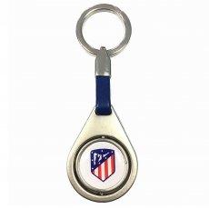 Atletico Madrid F.C. Spinner Keyring BL