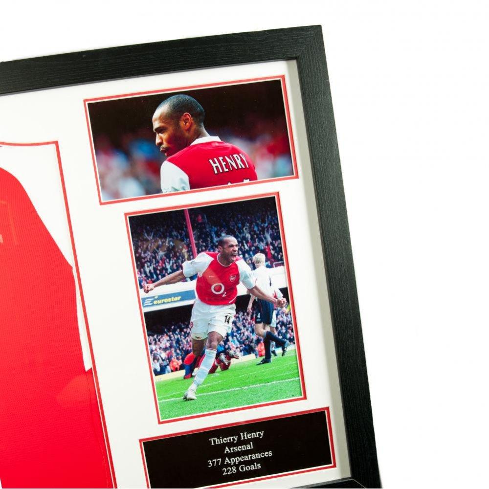 ce4e19bbc Arsenal F.C. Henry Signed Shirt (Framed)