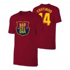Barcelona 1899 t-shirt COUTINHO, crimson
