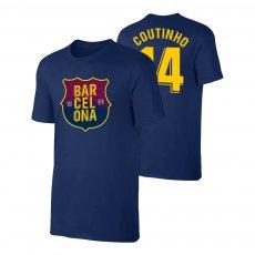 Barcelona 1899 t-shirt COUTINHO, dark blue