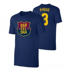 Barcelona 1899 t-shirt PIQUE, dark blue