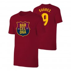 Barcelona 1899 t-shirt SUAREZ, crimson