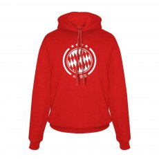 Bayern Munich Est. 1900 footer with hood, red
