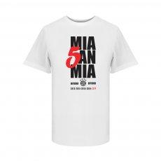 Μπάγερν Μονάχου μπλουζάκι Mia 5an Mia t-shirt, λευκό