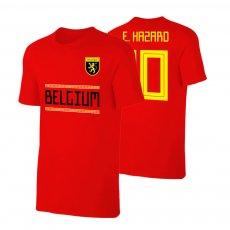 Belgium WC2018 Qualifiers t-shirt HAZARD, red