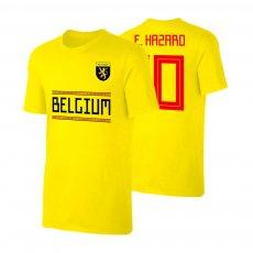 Belgium WC2018 Qualifiers t-shirt HAZARD, yellow