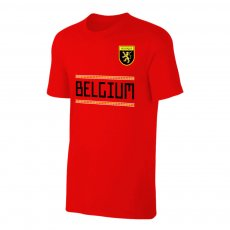 Belgium WC2018 Qualifiers t-shirt, red