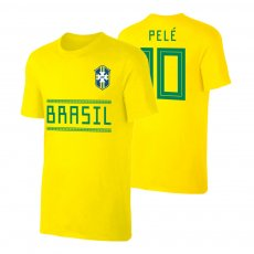 Brasil WC2018 Qualifiers t-shirt PELE, yellow
