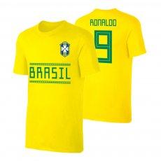 Brasil WC2018 Qualifiers t-shirt RONALDO, yellow