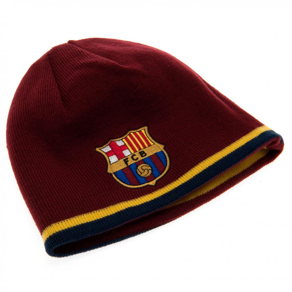 c4fd65489a90d2 F.C. Barcelona Reversible Knitted Hat
