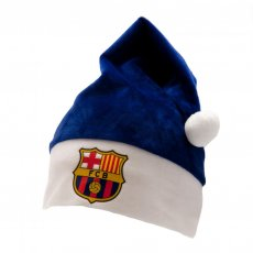 FC Barcelona Santa Hat