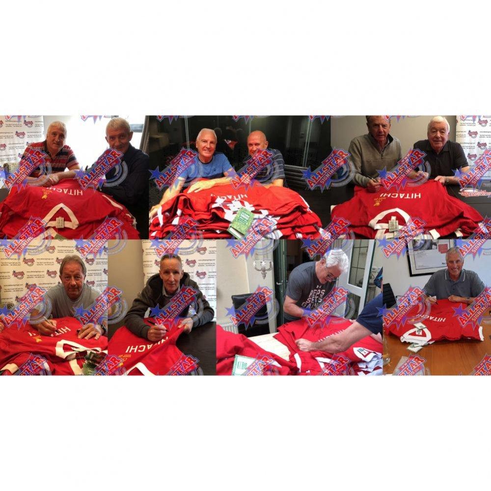 Liverpool FC 1977 European Cup Winners Signed Shirt (Framed)