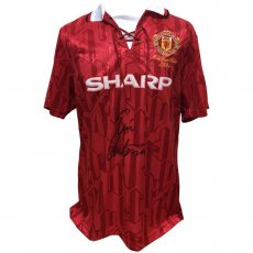 Manchester United FC Cantona Signed Shirt
