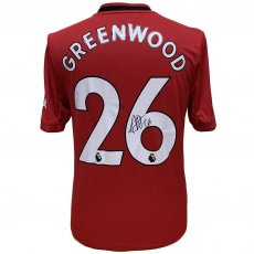 Manchester United FC Greenwood Signed Shirt