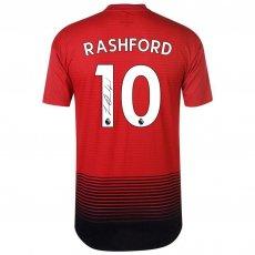 Manchester United FC Rashford Signed Shirt