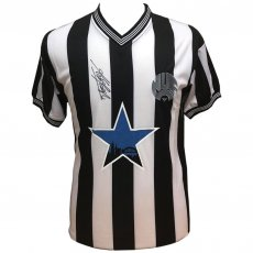 Newcastle United FC Keegan Signed Shirt