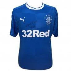 Rangers FC Morelos Signed Shirt