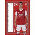 Arsenal FC Calendar 2021