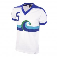 California Surf Away 1980 Short Sleeve Retro Football Shirt