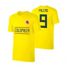 Colombia WC2018 Qualifiers t-shirt FALCAO, yellow