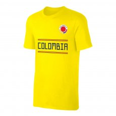 Colombia WC2018 Qualifiers t-shirt, yellow
