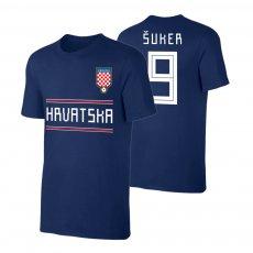 Croatia WC2018 Qualifiers t-shirt SUKER, dark blue