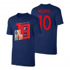 Croatia WC2018 Winners t-shirt MODRIĆ, dark blue