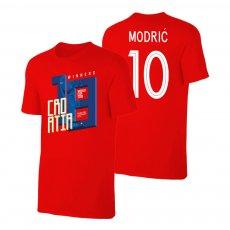 Croatia WC2018 Winners t-shirt MODRIĆ, red