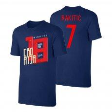 Croatia WC2018 Winners t-shirt RAKITIĆ, dark blue