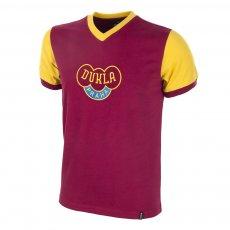 Dukla Prague 1960s Short Sleeve Retro Football Shirt