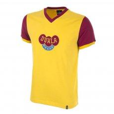 Dukla Prague Away 1960s Short Sleeve Retro Football Shirt