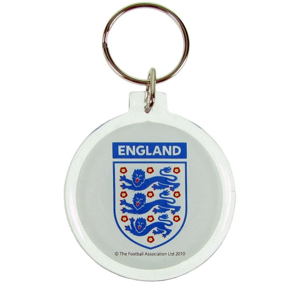 England F.A. Acrylic Crest Keyring