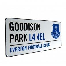 Everton F.C. Street Sign