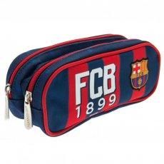 F.C. Barcelona Double Zip Pencil Case