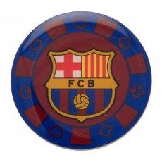 F.C. Barcelona Poker Chip Badge